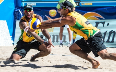 Brazilians get revenge to go for gold